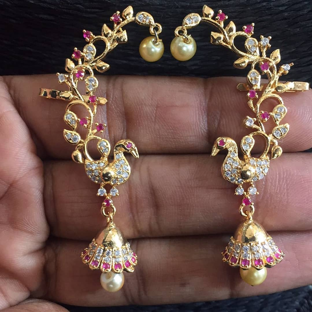 Fashionable Ear Cuffs From Dhruvam