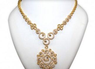 Gold necklace NAJ Jewellery