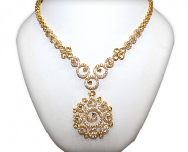 Gold necklace NAJ Jewellery