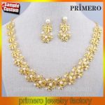 Gold Pearl Necklace Set From P.Satyanarayan & Sons Jewellers