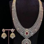 Imitation Bridal Stone Haram Set From Dhruvam