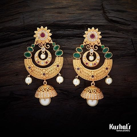 Imitation earrings kushal's fashion jewellery