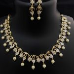 Imitation Necklace Set From Kovai Collections