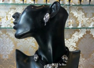 Pretty Choker With Ganesa Pendant Bcos Its silver