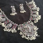 Silver Guttapusalu With Pearls From Bcos Its Silver