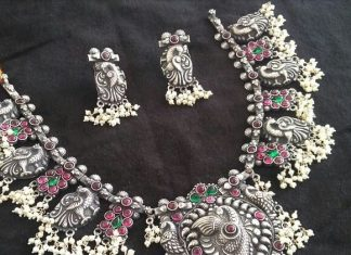 Silver Guttapusalu with pearls Bcos its silver