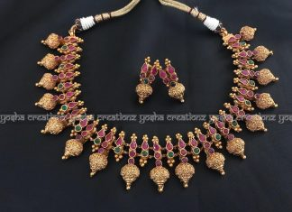 Traditional imitation necklace yosha creations