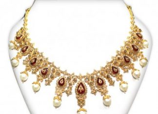Uncut gold necklace NAJ-Jewellery