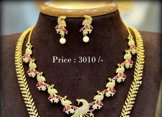 Attractive Necklace Set From Shubam Pearls & Jewellery