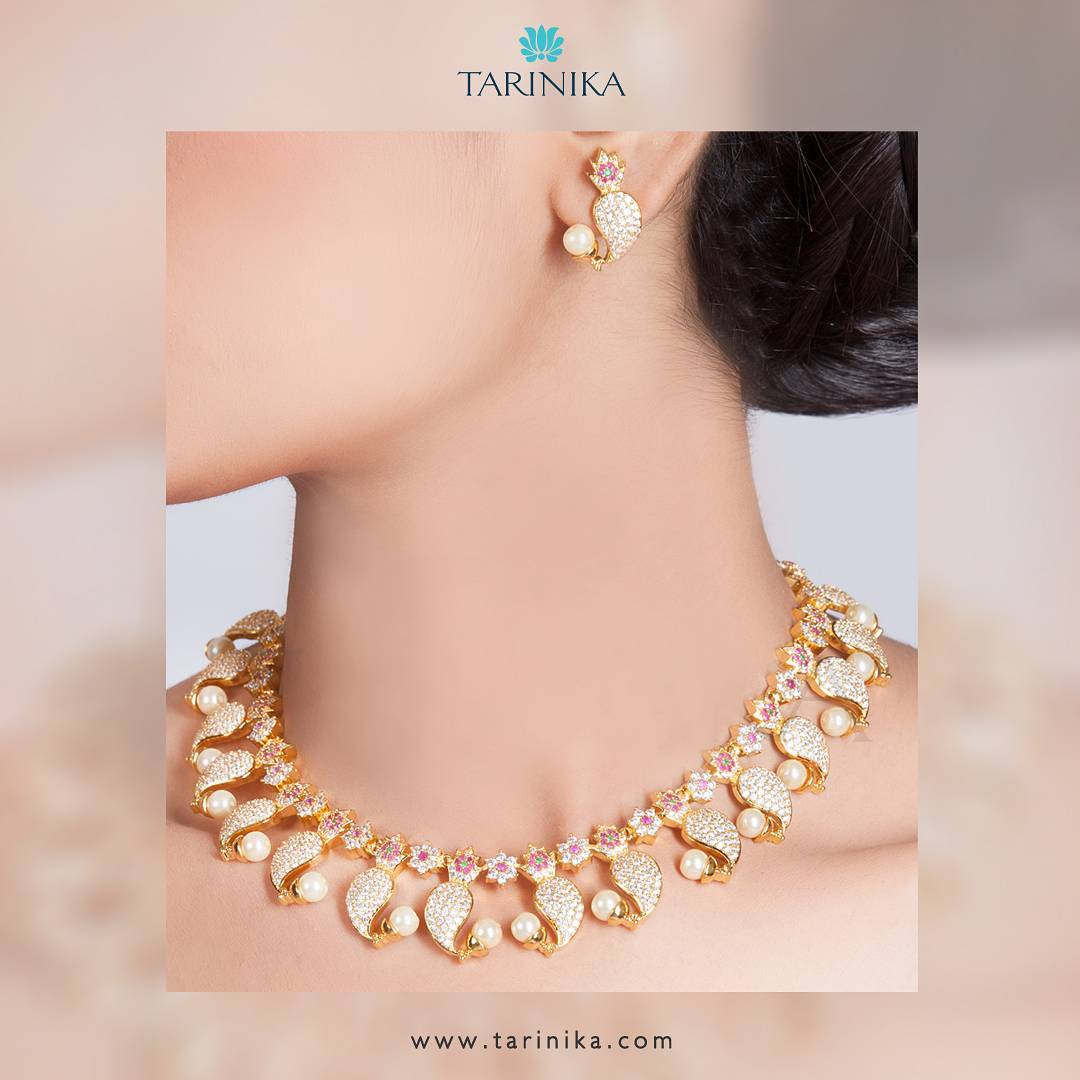 Designer Necklace Set From Tarinika