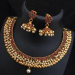 Elegant Simple Necklace Set From Dhruvam