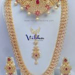 Exordinary Bridal Jewellery Set From Vibha Creations