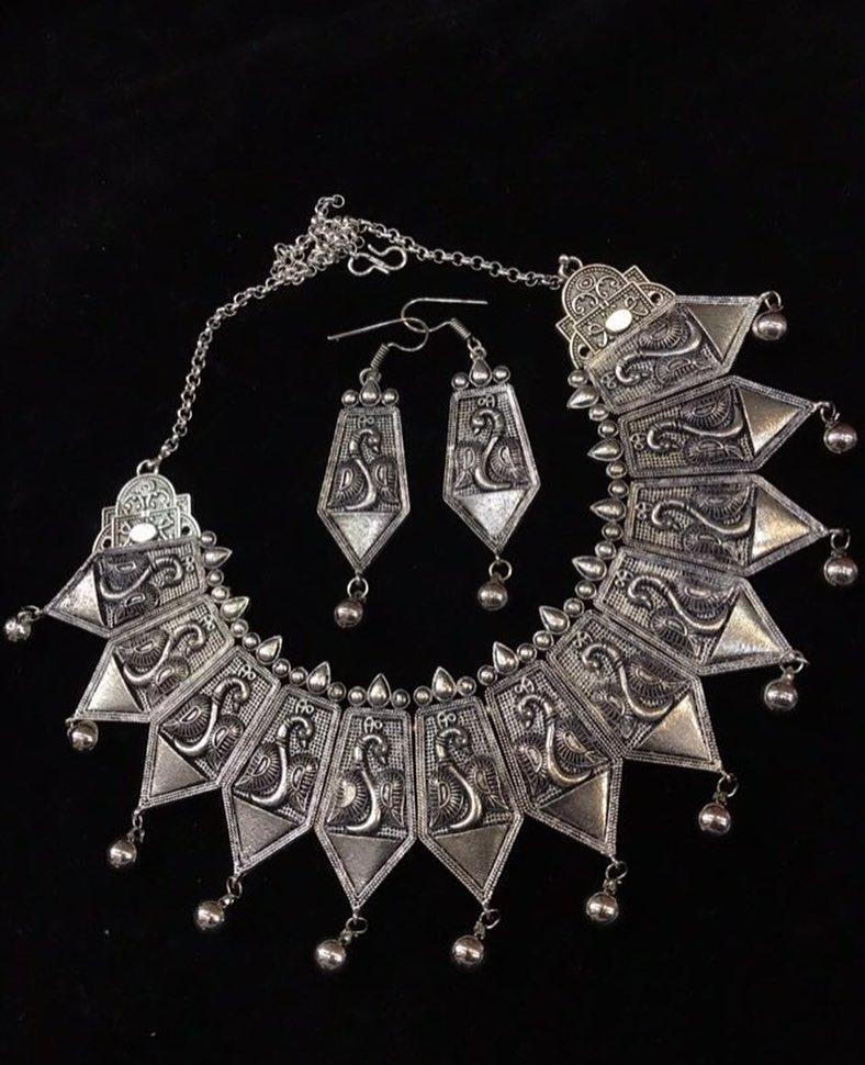 German Silver choker From Surasha