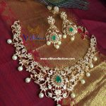 Glittering Short Necklace From Vibha Creations