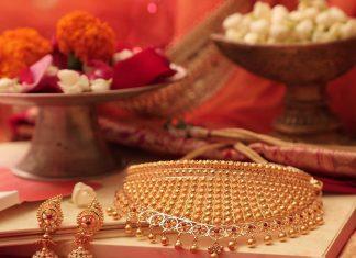 Gold Choker From Manubhai jewels