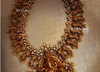 Gold Plated Silver Temple Necklace From Bcos Its Silver