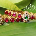 Gold Plated Pure Silver Bangles From Bandhan