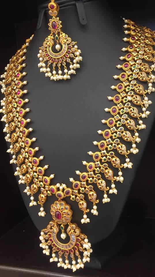 Imitation Long Necklace From Moksha Designer Accessories