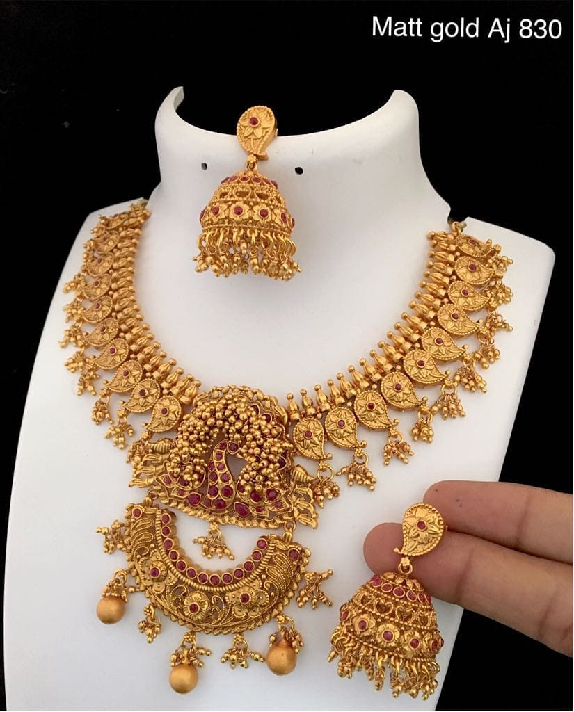 Imitation Necklace Set From Bead Chicz