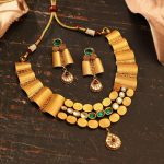 Latest Gold Necklace From Manubhai