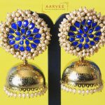 Pearl Bunch Jhumka From Aarvee