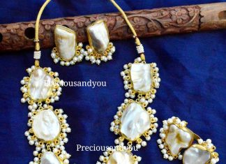 Pearl Necklace Set From Precious and You