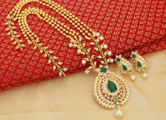 Stunning Necklace Set From Magha Store
