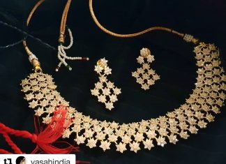 Stunning Stone Necklace Collections From Vasahindia