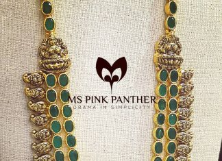 Temple Layer Necklace From Ms Pink Panthers