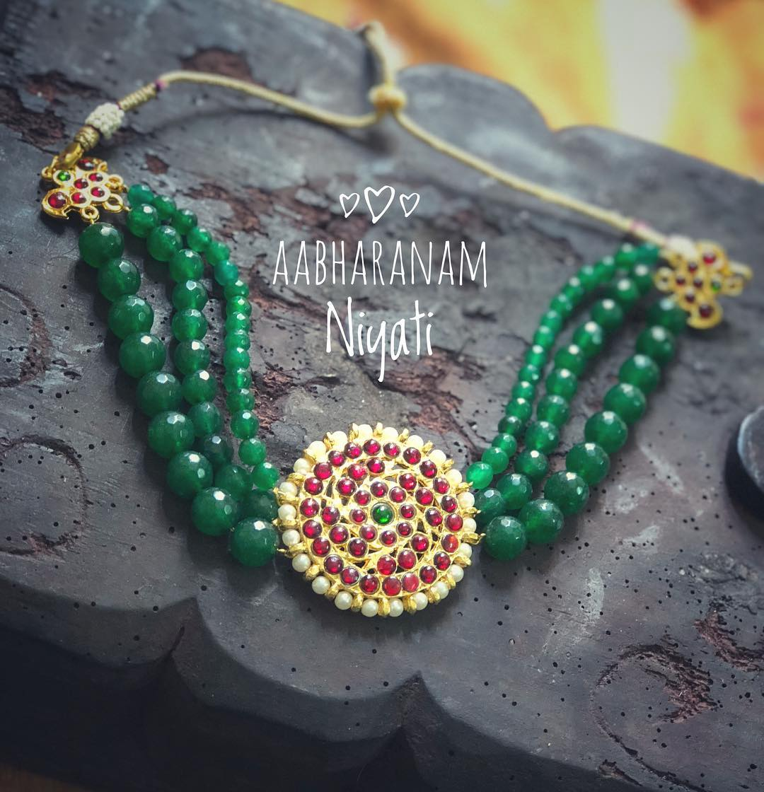 3 Layer Choker From Aabharanam