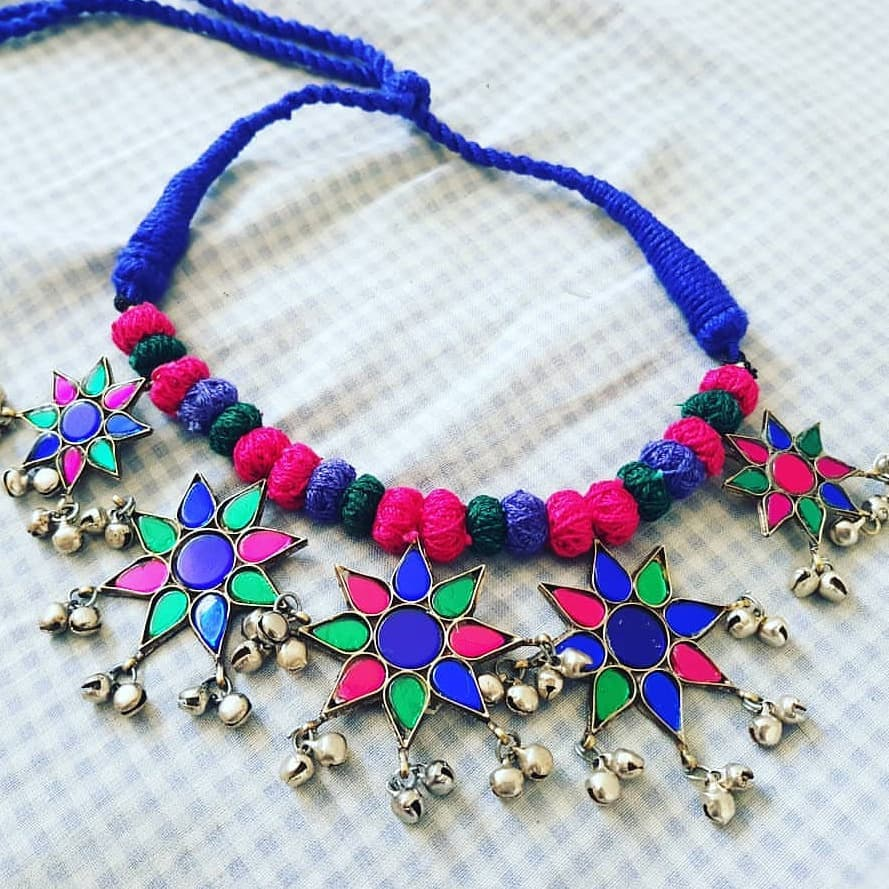 Attractive Afgani Necklace From Mia Fashions