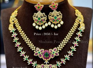 Attractive Multilayer Necklace From Shubam Pearls And Jewellery