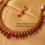 Beaded Necklace From Moksha