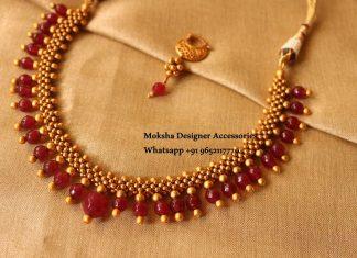 Beaded Necklace From Moksha