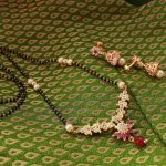 Beautiful Black Beaded Necklace From Magha Store