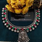 Beautiful Kohlapuri Lakshmi necklace From Izhaiyini