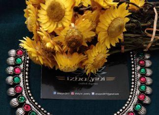 Beautiful Kohlapuri Lakshmi necklace From Izhaiyini