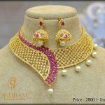 Designer Choker From Shubam Pearls And Jewellery