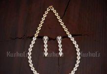 Designer Necklace Set From Kushals Fashion Jewellery