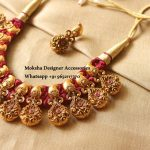 Floral Thread Necklace From Moksha