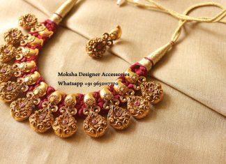 Floral Designer Necklace From Moksha