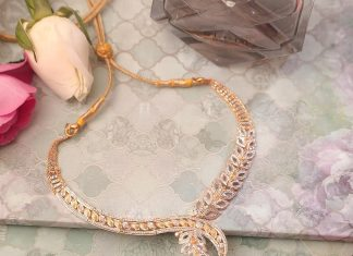 Gold Necklace From Manubhai Jewellers