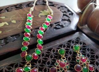 Gorgeous Agate Necklace Set From Izhaiyini