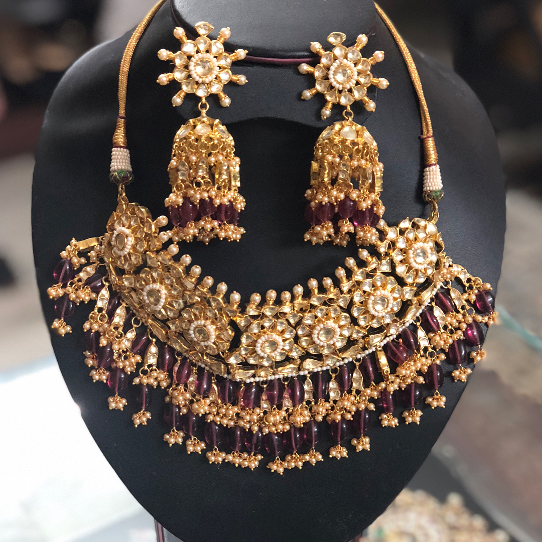 Kundan Necklace Set From Jewel Style