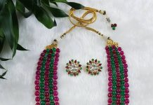 Multilayered Beaded Necklace From Jewel Style