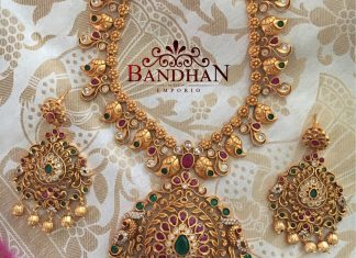 Precious Long Necklace From Bandhan