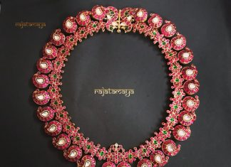 Pretty Mango Necklace From Rajatmaya