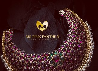 Pretty Pink Choker From Ms Pink Panthers