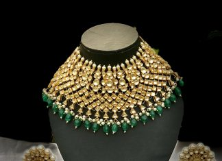 Punjabi Bridal choker From Jewel Style