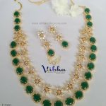 Shiny Two Layer Haram From Vibha Creations